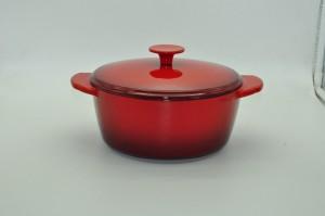 Enameled Cast Iron Casserole Ceramic Coating Pot Enameled Cast Iron Wok