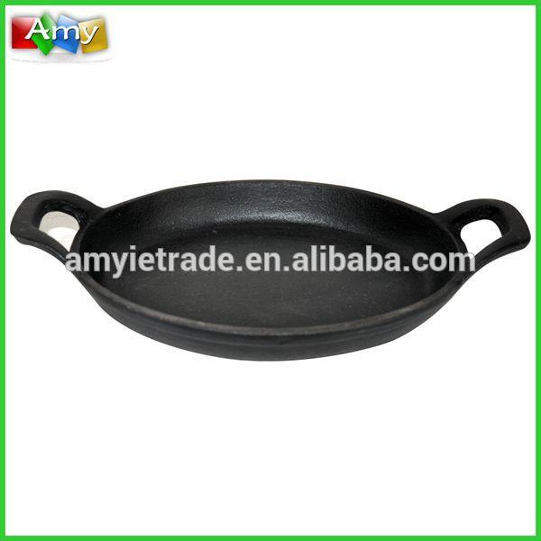 cast iron pancake pan, cast iron paella pans