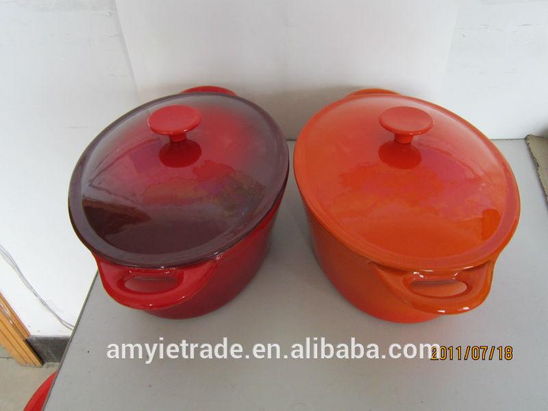 enameled cast iron casserole, cast iron oval pot, cast iron enameled cookware
