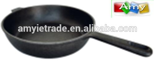 SW-F25 25x6cm cast iron pan,cast iron cookware