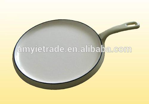 Chinese wholesale Japanese Enamel Baking Pan - Cast Iron Pancake Pan,Enamel Cast Iron Pan – Amy