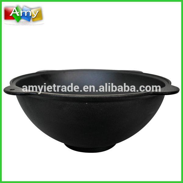 cast iron wok/cast iron cookware