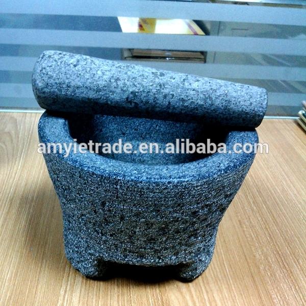 Granite Mortar And Pestle, Stone Mortar And Pestle