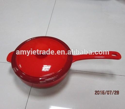 Cast Iron Saucepan With Lid, Cast Iron Sauce Pan