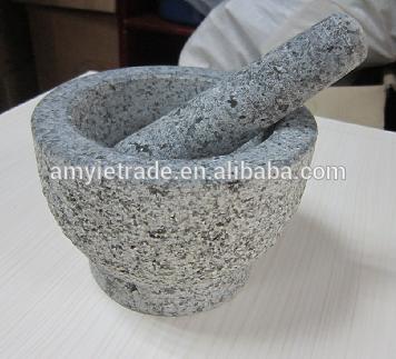 stone mortar and pestle, granite stone mortar, mortar and pestle