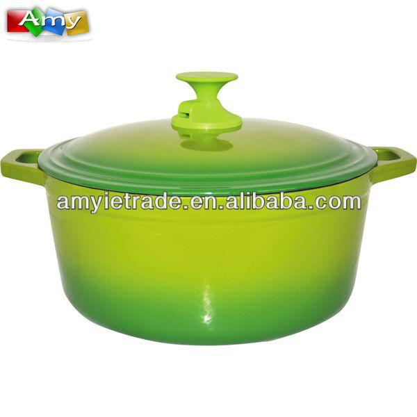 Factory wholesale Stainless Steel Kitchen Utensil Set - 29 cm Enameled Cast Iron Casserole,Enamel Cast iron Cookware – Amy