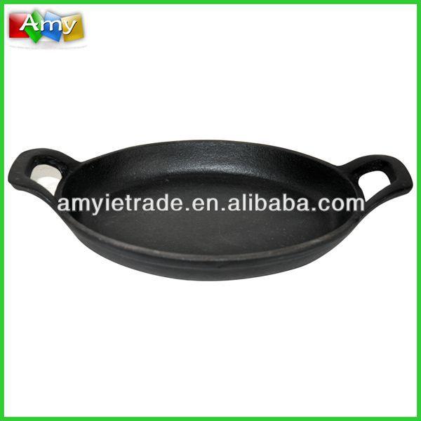 cast iron pancake pan, nonstick pancake pan, cast iron paella pans