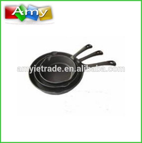 cast iron fry pan set